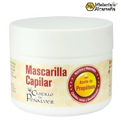 MASCARILLA CAPILAR CON PROPOLEOS, MIELERIA